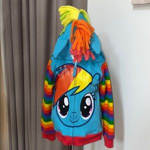 Other - My Little Pony Hoodie with Wings Size 4T